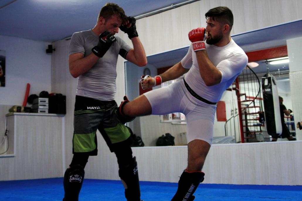 MMA Training in Düsseldorf