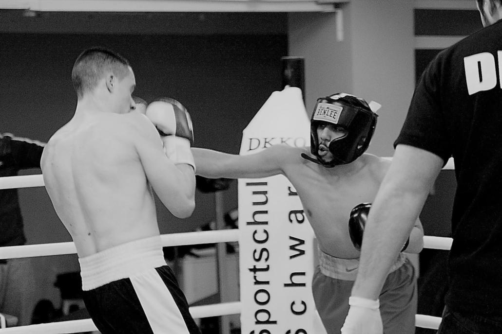 Boxkampf in Düsseldorf