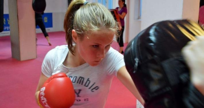 Frauenboxen Sportschule Asia Ratingen Düsseldorf