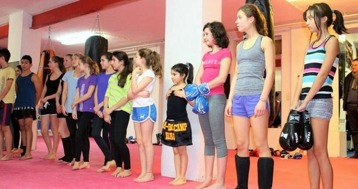 Kickboxen Ratingen Düsseldorf für Kinder / Jugendliche