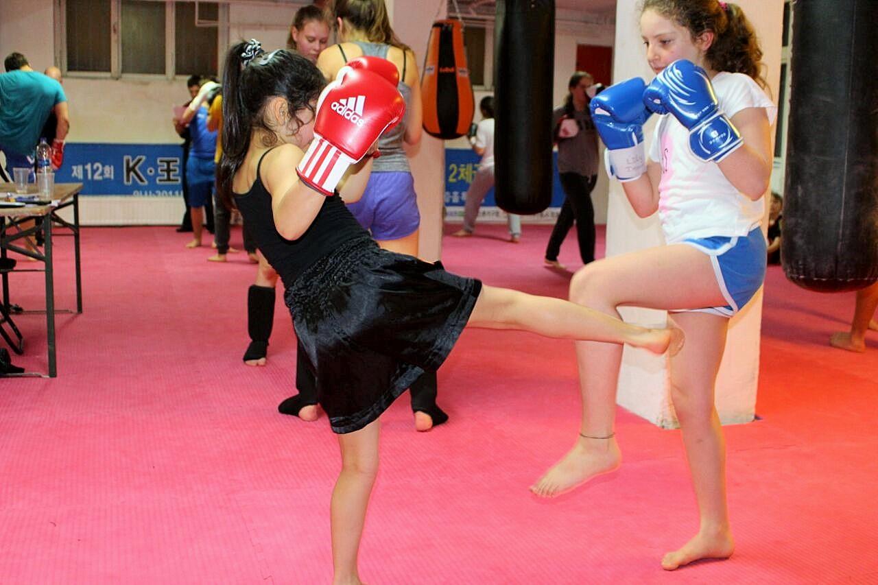 Kickboxen für Mädchen