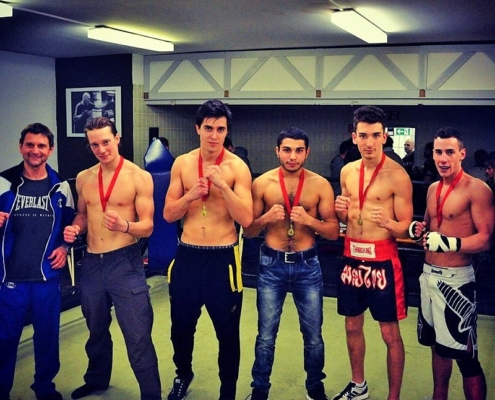 Kickboxen Ratingen Fighter