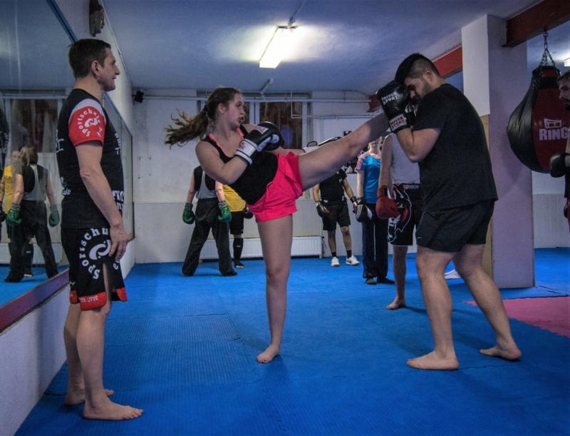 Kickboxen in Düsseldorf trainieren