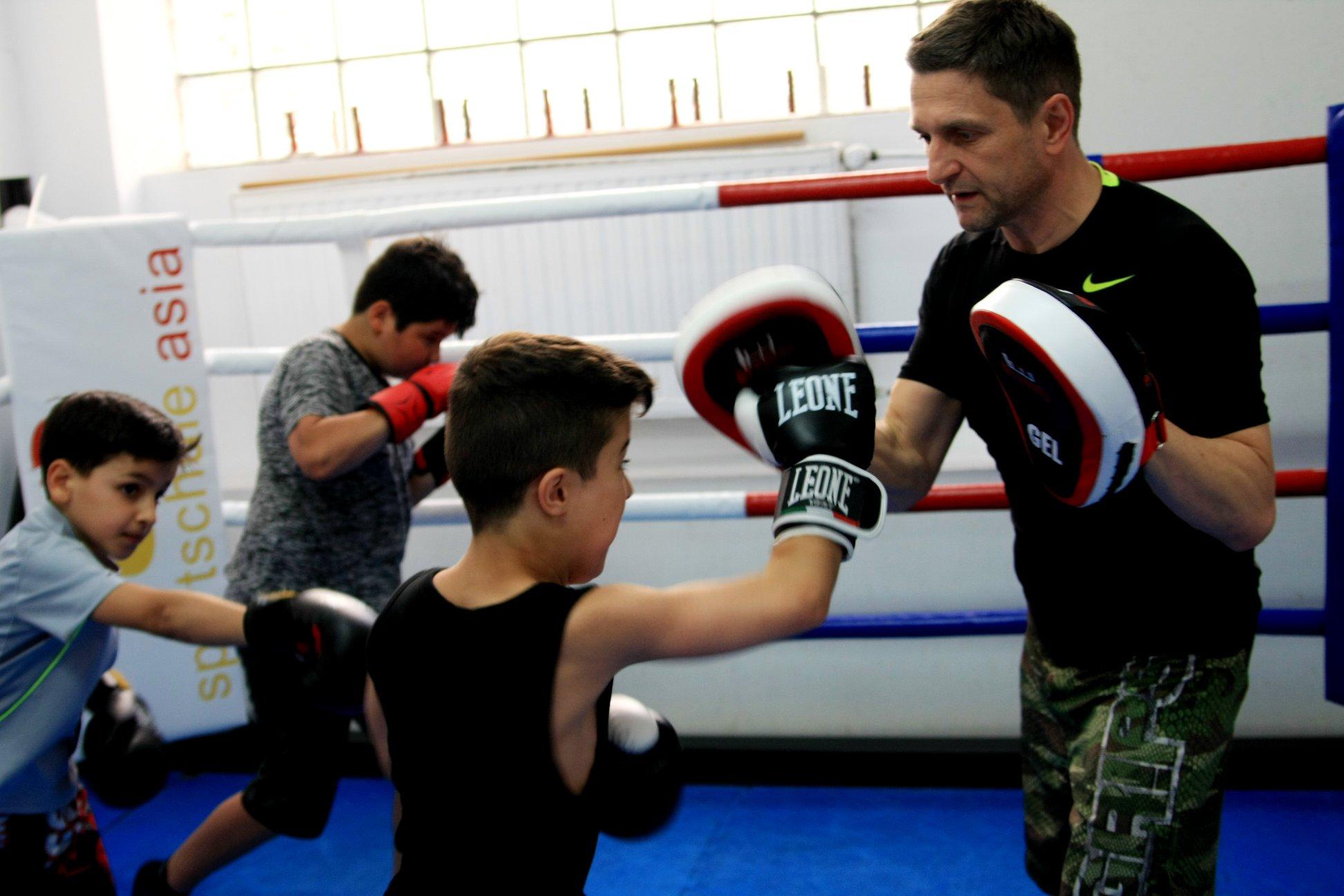 MMA Training Kinder