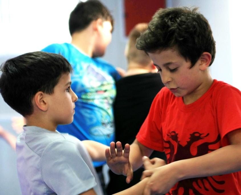 MMA Kinder Ringen
