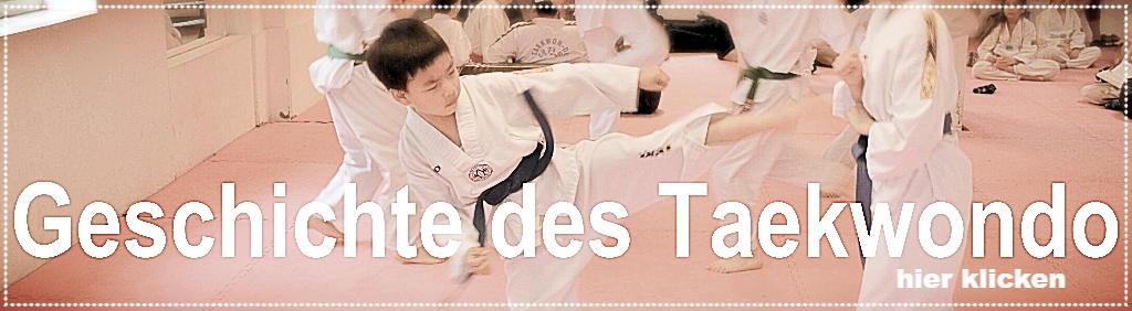 Geschichte Taekwondo