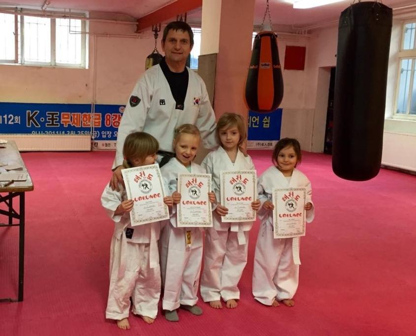 Taekwondo Kinder