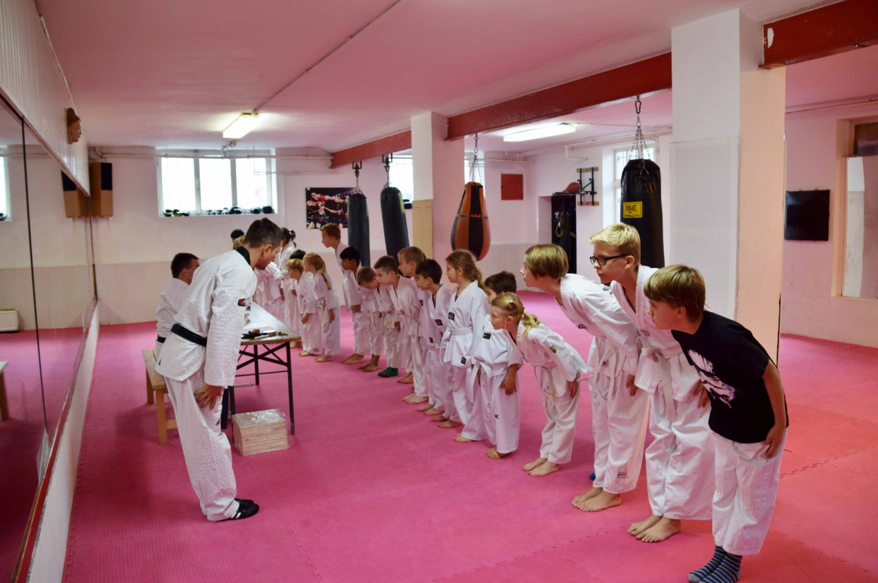 Kinder Jugendliche Taekwondo