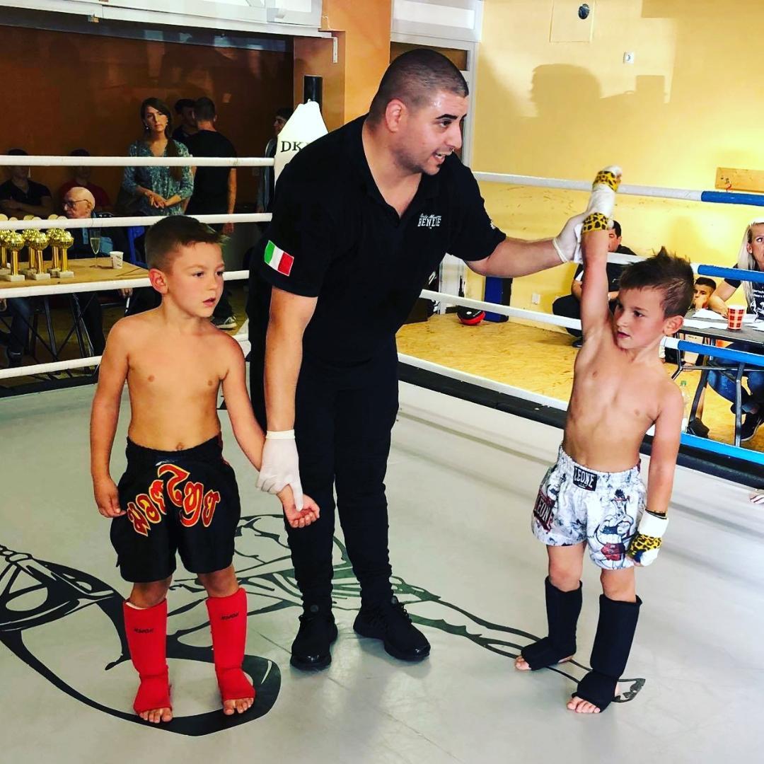 Muay Thai Thaiboxen Düsseldorf Kinder