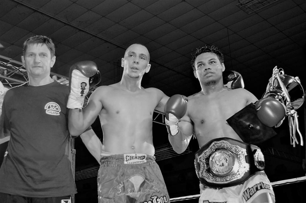 Muay Thai Champion Fight in Thailand
