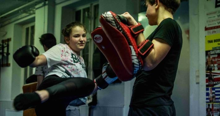 Kickboxen Jugendliche in Düsseldorf und Ratingen