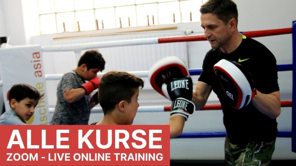 Kampfsport Online Live Training