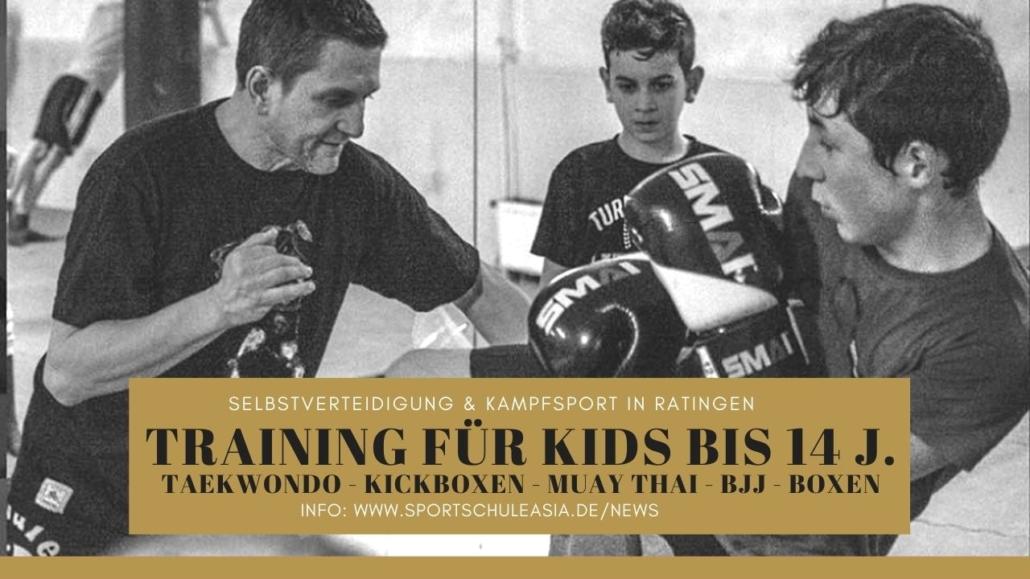 Kinder Kampfsport in Düsseldorf
