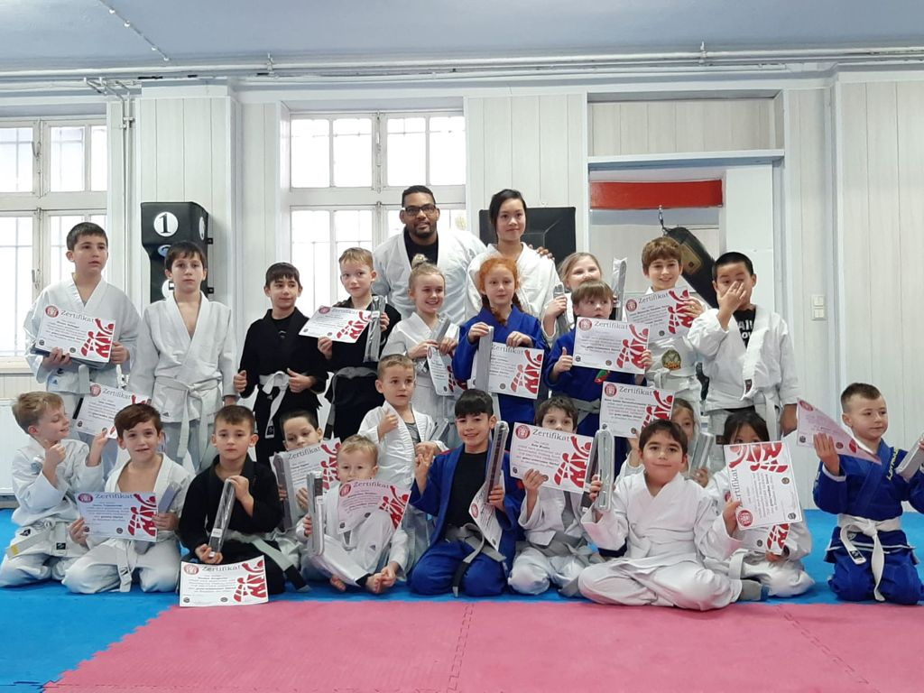 Brazilian Jiu Jitsu Kindertraining